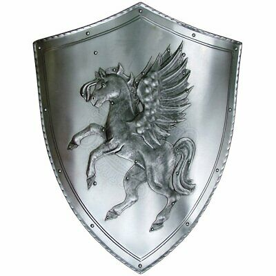 Medieval Horse Decoration Shield with coat of arms Warrior Knight Shield II