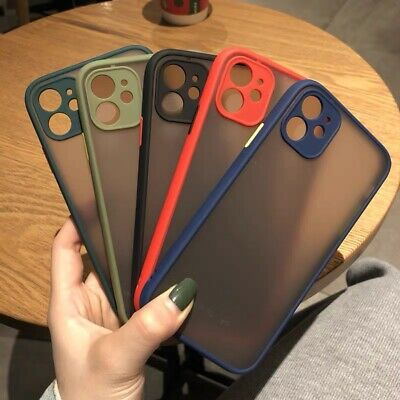 Upgrade Camera Translucent Matte Soft Arylic Case Cover For iPhone 11 Pro Max 11