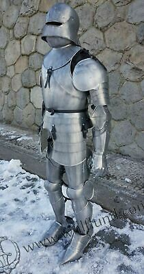 X-Mas Armour Medieval Wearable Knight Crusader Full Suit Of Armor Collectibl ff