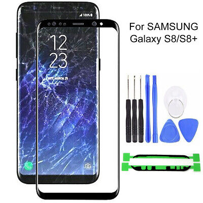 Front Outer Touch Screen Glass Lens Replacement for Samsung Galaxy S8 S8Plus ST