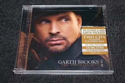 Garth Brooks The Ultimate Hits Two CDs 34 Songs! New, Sealed !