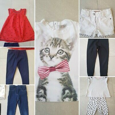 Bundle of Girl's Clothing ~ Age 3/4 Years ~ Next, M&S, H&M ~ 7 Items