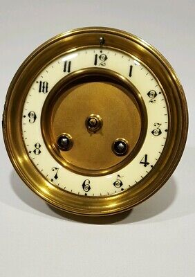 A FRENCH JAPY FRERES MANTLE CLOCK MOVEMENT WORKING ORDER  Ref.sm9