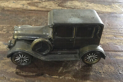 Banthrico 1924 Chrysler Antique Car Bank Metal Vintage Collectible