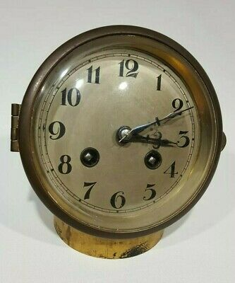 A FRENCH MANTLE CLOCK MOVEMENT WORKING ORDER  Ref.sm10