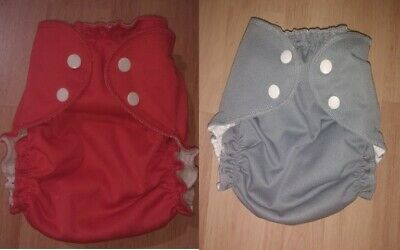 Apple Cheeks Size 2 Diaper Covers (set of 2) Cloth Diaper