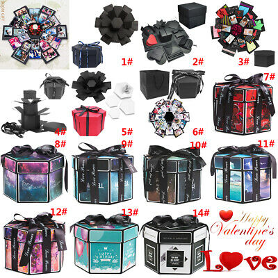 Explosion Gift DIY Surprise Photo Box Creative Scrapbook Album love Memory Gift