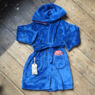Paddington Bear Dressing Gown Marks And Spencer Age 3-4 Years Great Condition