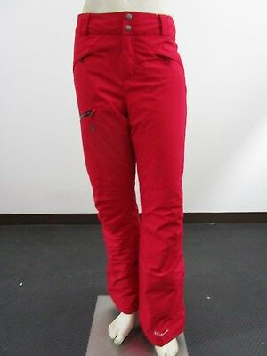 NWOT Womens M Columbia Wildside Stretch Waterproof Insulated Ski Snow Pants Red