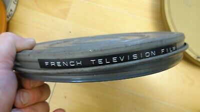 16mm film  French television film  royal tour of s africa
