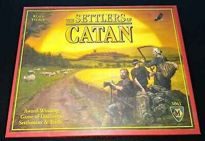 The Settlers of Catan - (Mayfair Games) - Contents Unpunched & Game is Unplayed