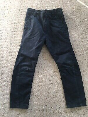 Boys Age 6 Blue Chino Trousers From Next