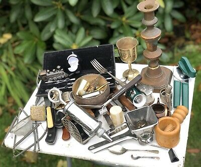 Job Lot Wholesale Bulk Kitchen Kitchenalia Antiques Vintage Homeware Household