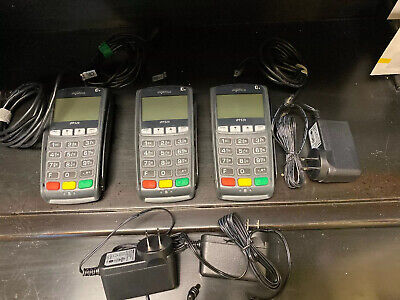 Three (3) Ingenico iPP320 Credit Card Payment Terminals POS Model #01T1358A