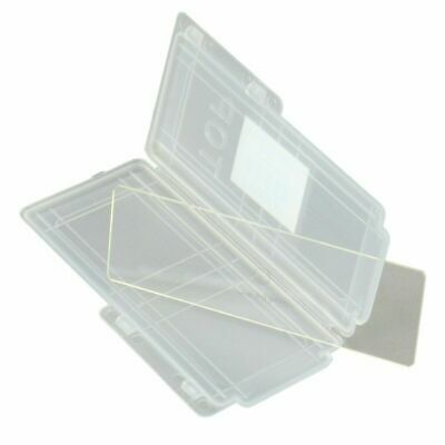 Microscope Calibration Slide  0.1MM & 0.01MM with Plastic Case