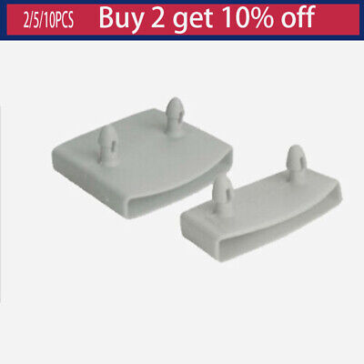 Plastic White Bed Slat End Cap Holder Replacement for Holding and Securing Bed