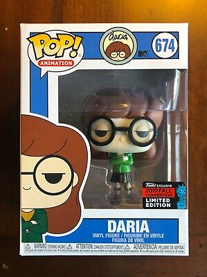 Funko Pop! Animation Daria (MTV!) Gamestop/NYCC Shared Fall Convention Exclusive
