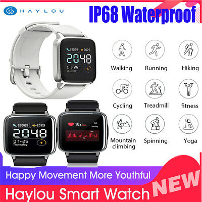 Global Xiaomi Haylou LS01 Smart Sports Watch Waterproof Heart Rate Monitor G7X5