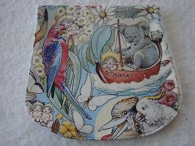Gumnut Babies Aussie Animals Burp Cloth Multi-Colour Handmade
