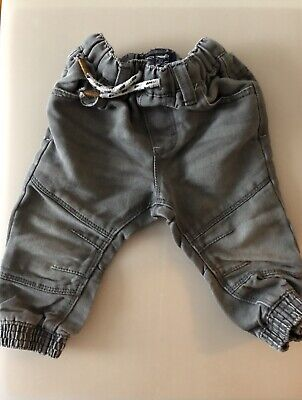 Next Baby Boys Jeans Grey 9-12 Months