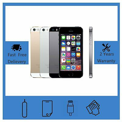 NEW Apple iPhone 5s 16GB 32GB Various Colors Factory Unlocked Smartphone UK