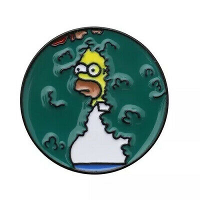 Homer Simpson Badge Pin The Simpsons Fast UK Post