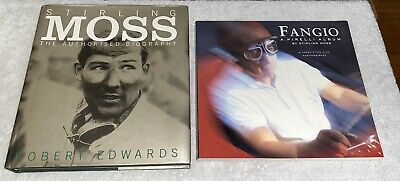 Stirling Moss The Authorized Biography Hand Signed By Sir Sterling Moss Edwards