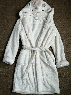 Next Girls Unicorn Dressing Gown,age 13 - 14 Years EXCELLENT CONDITION !!!!