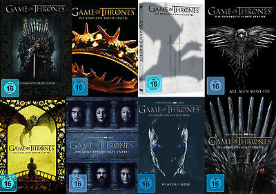 Game of Thrones - Staffel 1 2 3 4 5 6 7 8 - DVD / Blu-ray - *NEU*