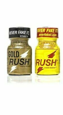 poppers rush x deux 10 ml Gold+classic offre duo stimulant libido