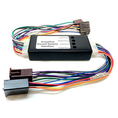 Mazda Adjustable ISO to ISO BOSE Car Amplifier Interface Adaptor