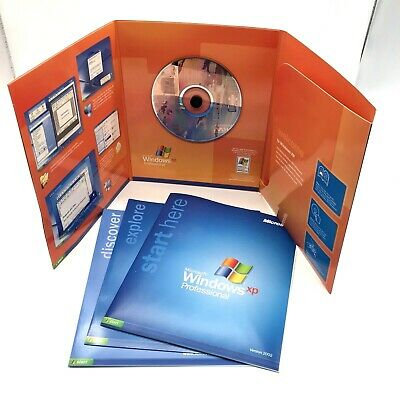 Microsoft Windows XP Professional Edition Version 2002 CD with Product Key