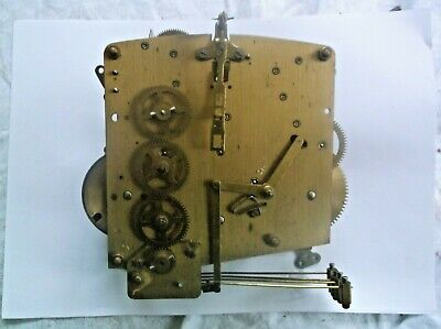 Perivale 4 Hammer 4X4 Mechanism  From An Old  Mantle Clock Working Order Ref V8