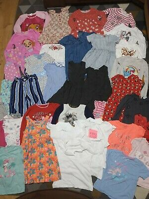 Huge Bundle Of Girls Clothes 4-5years #892 GEORGE NEXT ZARA PAW PATROL JOHN LEWI