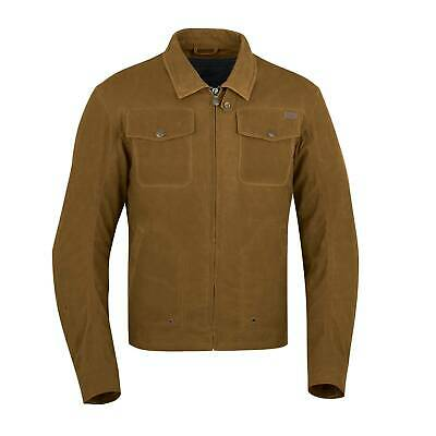 Indian Motorcycle Mens Waxed Cotton Shift Riding Jacket
