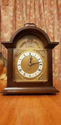 Antique  Metamec wooden mantle clock!Very Rare!
