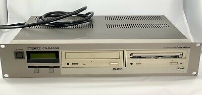 Used Tascam CD-D4000 Professional Compact Disc Duplicator