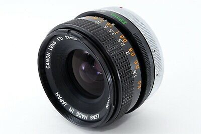 Canon FD 28mm f/ 3.5 S.C. Wide angle FL FD Mount From Japan Very Good +++