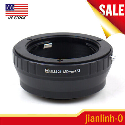 Lens Adapter Ring For Minolta MD to Micro 4/3 M43 GM1 GX7 GF6 GH3 G5 GF5 US SHIP