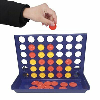 Intelligent Game ToysThree-dimensional Four-game Four Chess Educational Toys 5f