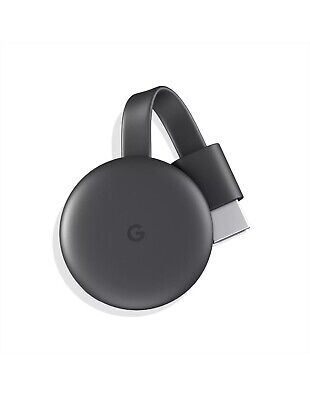 Google Chromecast (3rd Generation) Media Streamer - Black