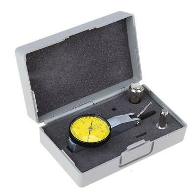 0-0.8mm Precision Waterproof Dial Test Lever Indicator Gauge Scale Meter Tool UK