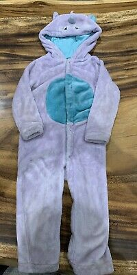 John Lewis Girls Unicorn Sleepsuit/Pyjama Suit  2-3 Years