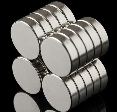 N35 Neodymium Magnets ~ 6mm Dia x 3mm Thick ~ Round DISCS Cylinder Ring ~ STRONG