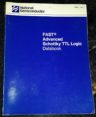 USED 1988 National FAST TTL Logic Databook