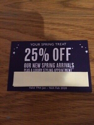 White Stuff 25% Off Voucher, Valid 19th January - 16th February 2020