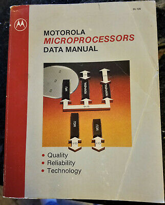 USED 1981 Motorola Microprocessors Data Manual