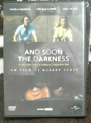 Dvd Raro And Soon The Darkness IL MOSTRO DELLA STRADA DI CAMPAGNA  Italiano