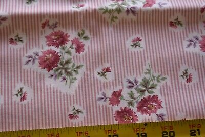 Hoffman G2178 Rose Green /& Cream Batik Quilting M8242 198//Apricot By 1//2 Yd