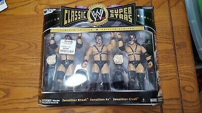 JAKKS Pacific WWE Classic Superstars Champion Ser. #10 Demolition Smash Ax Crush